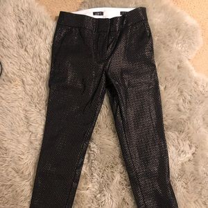 Sparkly ankle pants